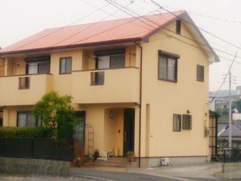 周南市 Y様邸 外壁・屋根塗装(ガイナ)リフォーム工事