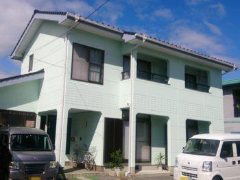 防府市 匿名様邸 外壁・屋根塗装(ガイナ)リフォーム施工事例