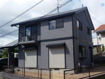 防府市 T様邸 遮熱塗料ガイナ・外壁屋根塗装リフォーム施工事例