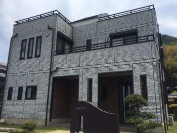 防府市向島 M様邸 外壁・屋根塗装リフォーム施工事例