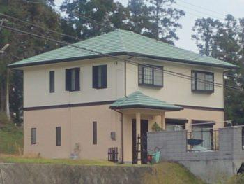 周南市 F様邸 屋根・外壁塗装(ガイナ)リフォーム施工事例