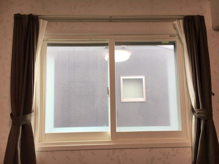 周南市 匿名様 防音内窓工事