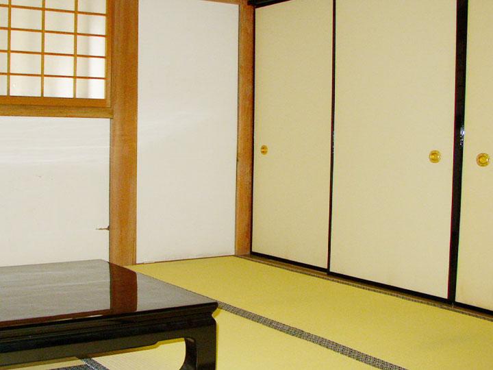 【内装修理営繕プラン】和室 ふすま貼り替え